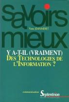 Y a-t-il (vraiment) des technologie de l'information ?