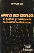 Audit des emplois et gestion prévisionnelle des ressources Humaines