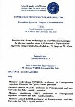 Introduction à une archéologie de la création romanesque le discours réaliste entre le fictionnel et le fonctionnel approche comparatiste d'H. de Balzac, G.Verga et Th.Mann
