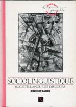 Sociolinguistique , Société, langue et discours