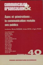 Ages et germinations : La communication revisite ses publics