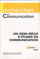 Un demi-siècle d'études en communication