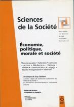 Économie, politique, morale et société