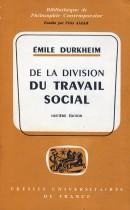 De la divison du travail social