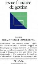 Formation et compétence