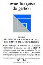 Alliances et partenariats : Les fruits de l'expérience