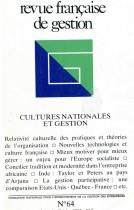 Cultures nationales et gestion