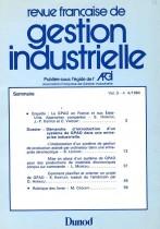 Enquête : La GPAO en France et aux États-Unis, Approches comparées