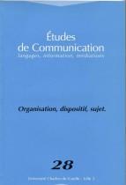 Études de communication langages,langages, information, médiations