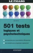 501 tests logiques et psychotechniques