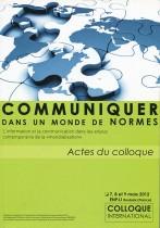 Communiquer dans un monde de normes