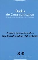 Études de communication : Pratiques informationnelles