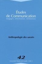 Études de communication : Anthropologie des savoures